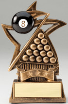 Billiards Star Series Trophy