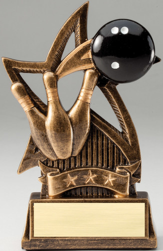 Bowling Star Series Trophy