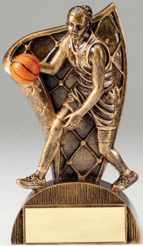 Basketball Female Flag Series Trophy