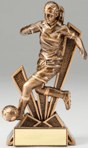 Soccer Female CheckMate Series Trophy