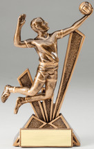 Volleyball Male CheckMate Series Trophy