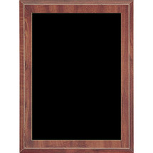 Economy Cherry Plaque with Black Plate