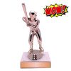 Wow Trophy Small Cheap Figure on Marble Base