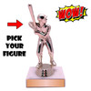 Wow Trophy Small Figure on Base Pick Your Figure
