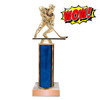 Wow Trophy Small Cheap Trophy with Column