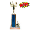 Wow Trophy Small with Column and Trim and Cheap
