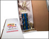 large wow trophy boxed