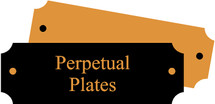 Perpetual plaque update plates