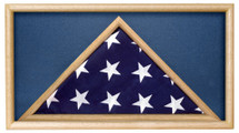 This is a case which holds a ceremonial flag