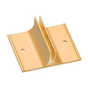 """2"""" Wall Bracket for Name Plates in Gold"""