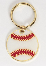 Baseball Full Color Keychain