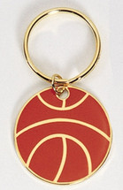 Basketball Full Color Keychain