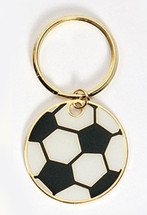 Soccer Ball Full Color Keychain