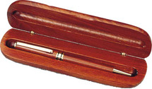 Rosewood Pen & Case custom engraved