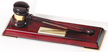 "8"" Ladies Piano Finish Gavel"