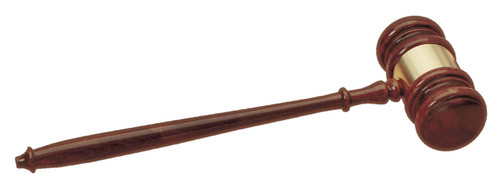 "24"" Walnut Finish Great Gavel"