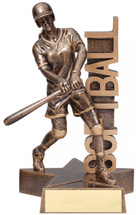softball resin trophy