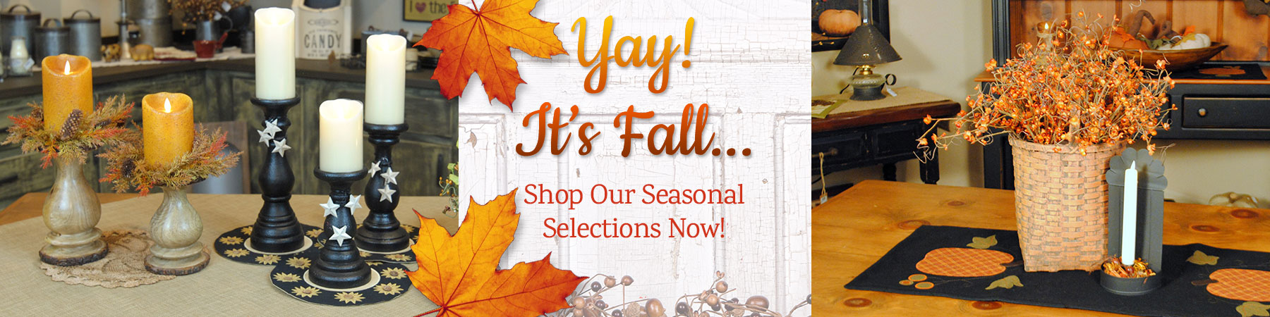 Shop seasonal country bath products
