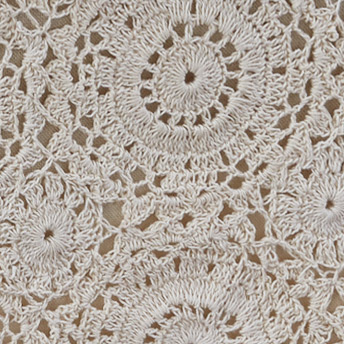 Lace Cream Valance