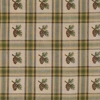 Pine Lodge curtain swatch