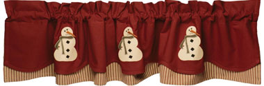 Exclusive Winters Past Valance
