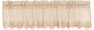 Heirloom Crochet Lace Valance