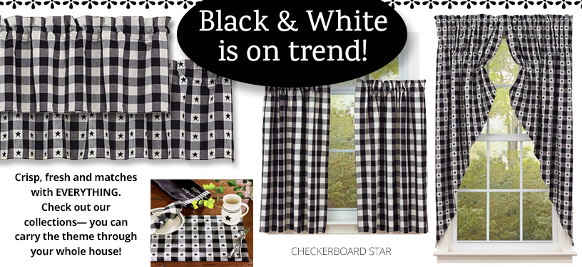 image of checkerboard star collection