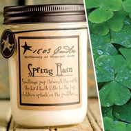 featured seasonal candle 1803 Spring Rain