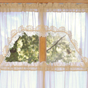 country village exclusive heirloom crochet lace swags