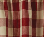 wicklow barn red valance