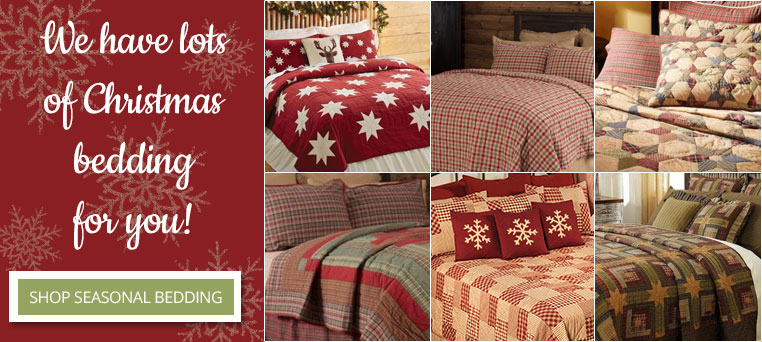 country seasonal bedding