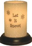 seasonal candle sleeves winter 2019