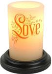 seasonal candle sleeves winter 2019 love