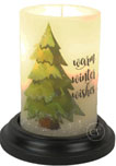 candle sleeves winter wishes 2019