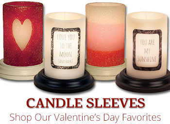 Valentine Candle Sleeves