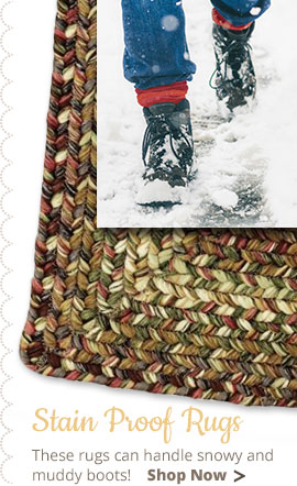 Black Forest Ultradurable Braided Rugs Country Village