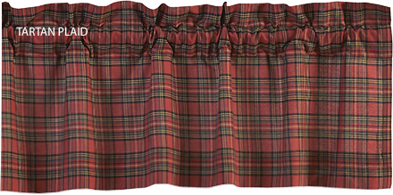 Tartan Plaid Curtain