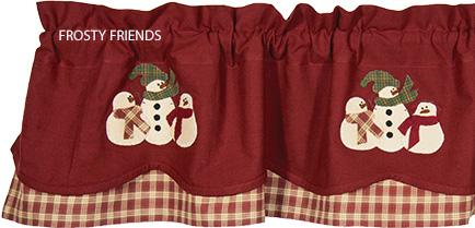 Frosty Friends Curtain