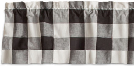 Wicklow Large Check Valance