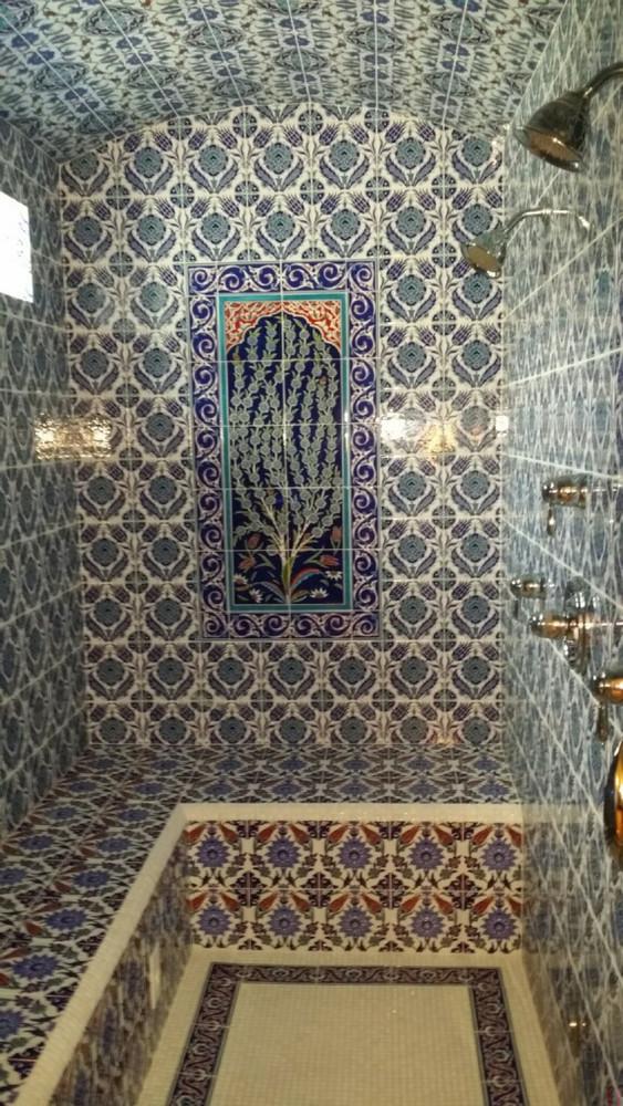 Tiled steam room - Boise, ID