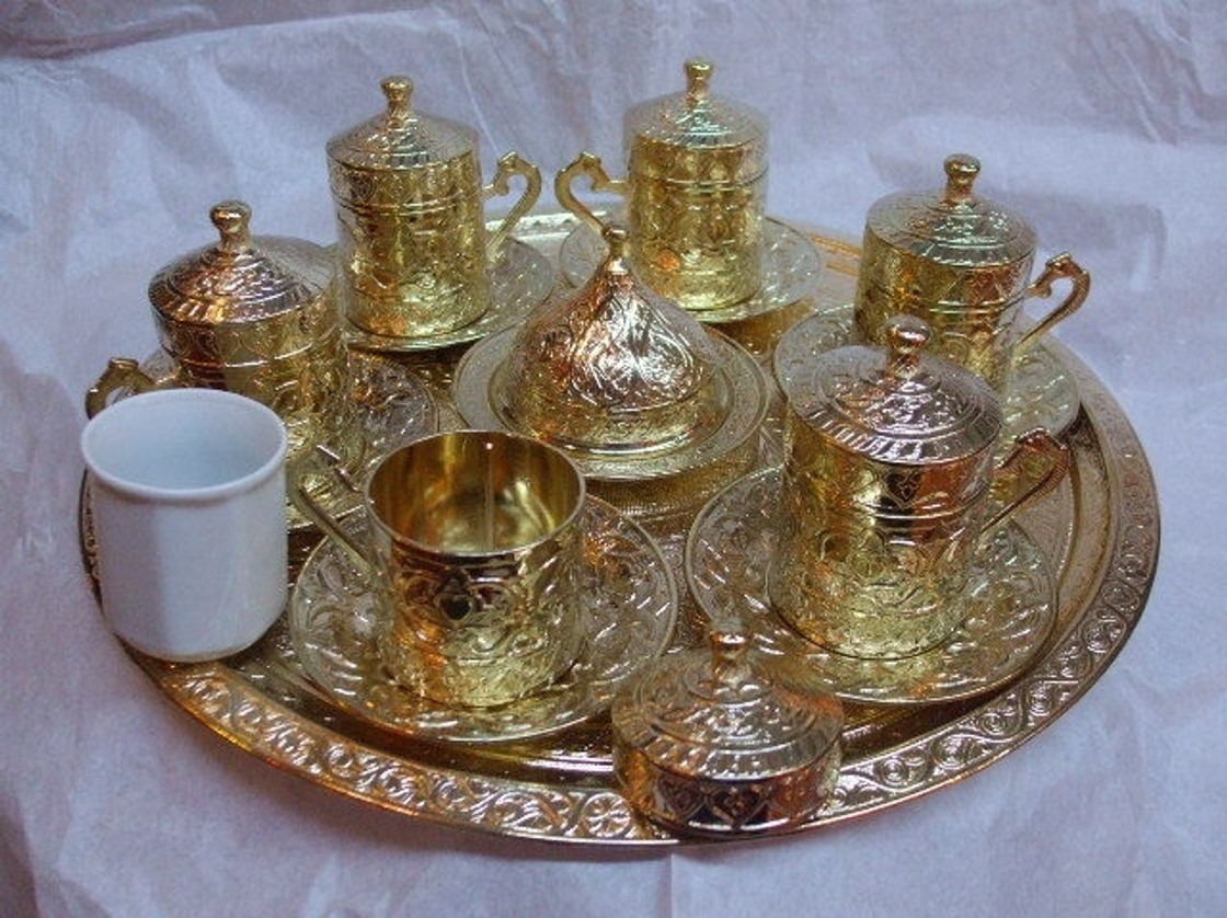 Complete Turkish Coffee Sets
