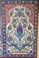 Iznik Art Tile Panel