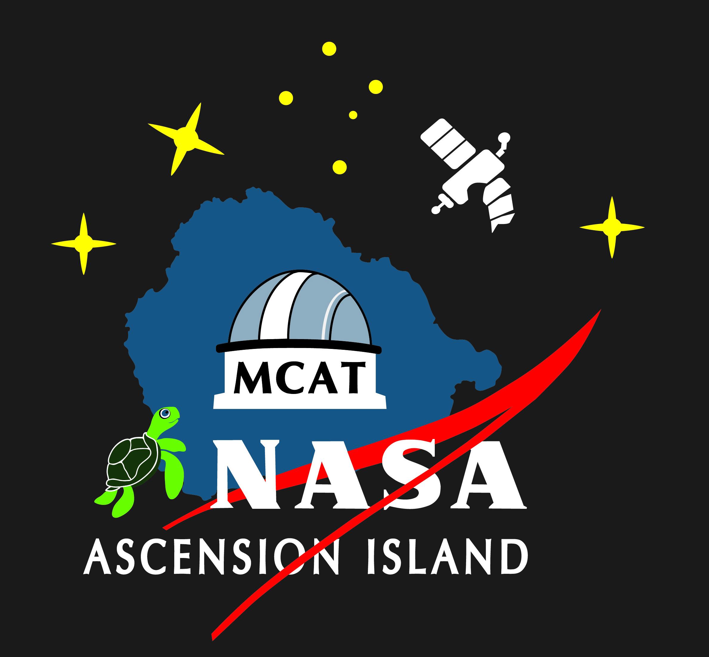 NASA ASI MCAT logo