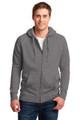 Vintage gray hoodie pictured
