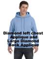 Pullover Hoodie  RHStyle-DiamondappLC_Bk