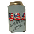 Your koozie will come with your club logo on the front