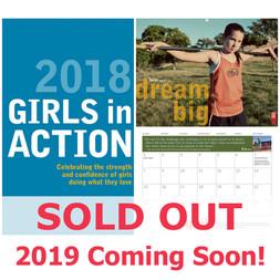 """Girls In Action"" 2018 Calendar"