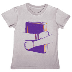 Book Hugger (gray)