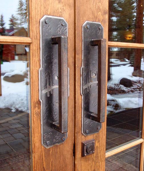 Wrought Iron Door Hardware   Ponderosa Forge & Ironworks