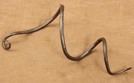 wrought iron wine chain plain link